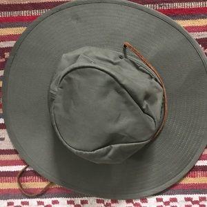 Brixton Men's Ranger II Brim Cotton Fedora Hat